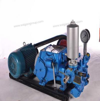 BW120/3 Horizontal Double Cylinder Reciprocating Single Acting Piston Pump