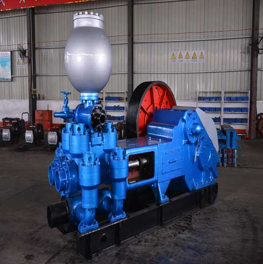 BW1200/7 Horizontal Double Cylinder Reciprocating Double Acting Piston Pump