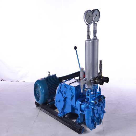 BW1150/3.5 Horizontal Double Cylinder Variable Double Liquid Grouting Pump
