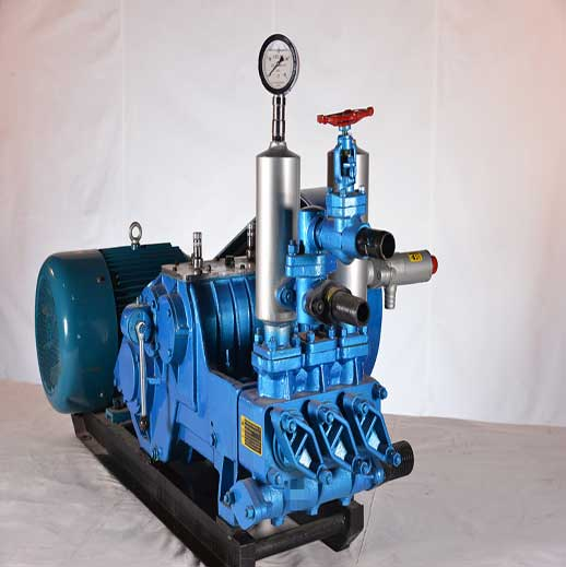 BW400/10 Horizontal Three Cylinder Reciprocating Single Acting Piston Pump