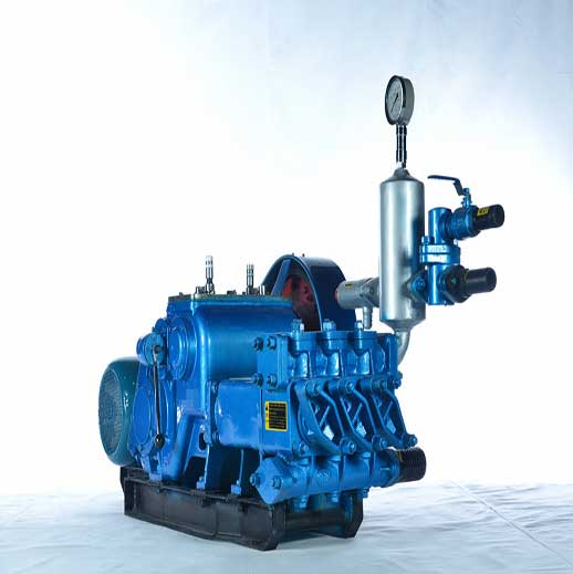 BW450/5 Horizontal Three Cylinder Reciprocating Single Acting Piston Pump