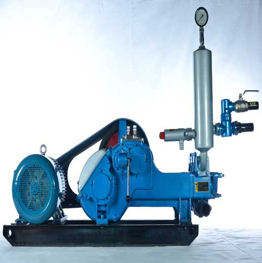 BW500/10 Horizontal Three Cylinder Reciprocating Single Acting Piston Pump