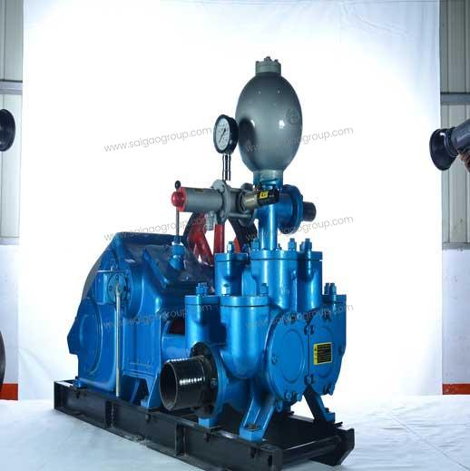 BW850/2 Horizontal Double Cylinder Reciprocating Double Acting Piston Pump