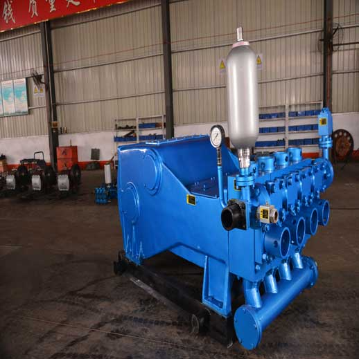 4NB-500 Horizontal Four Cylinder Reciprocating Single  Acting Piston Pump