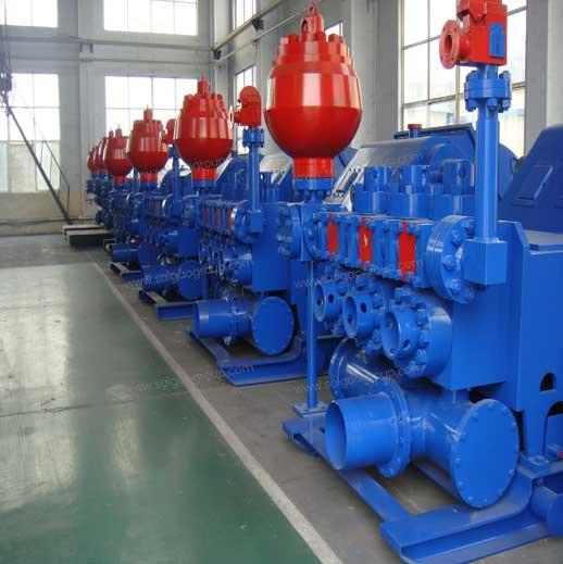 F500 Single-acting Mud Pump