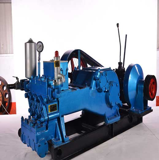 NBB360/10 Horizontal Three Cylinder Reciprocating Single  Acting Piston Pump