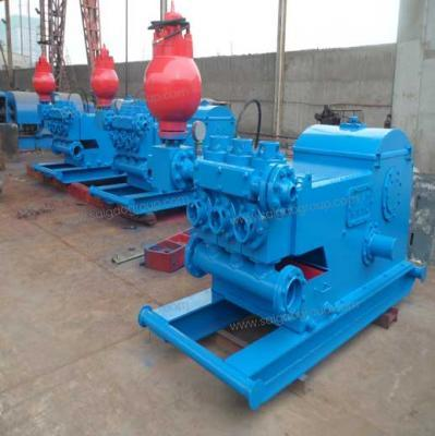 W-440 Horizontal Three Cylinder Reciprocating Single Acting Piston Pump