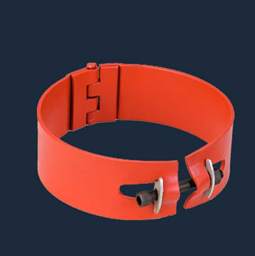 Hinged Bolted Stop Collar