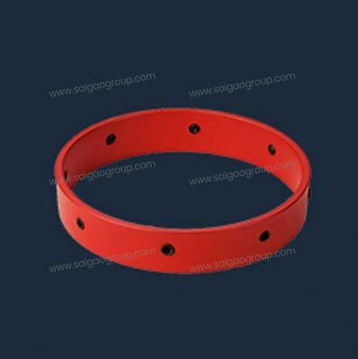Slip-On Stop Collar with Set Screws Single Side Beveled
