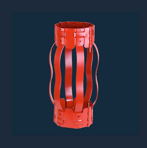 Non-welded Hinged Semi-rigid Bow Spring Centralizer