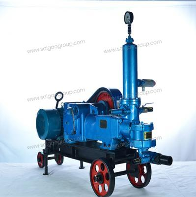 BW100/5 Horizontal Single Cylinder Reciprocating Single Acting Plunger Pump