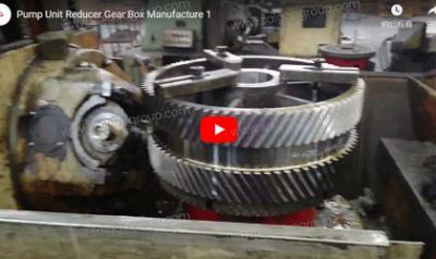 Pump Unit Reducer Gear Box Manufacture 1